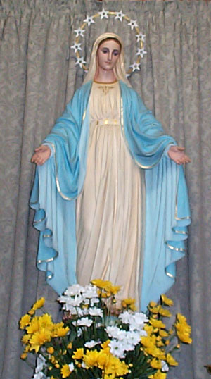 Mary Immaculate Statue