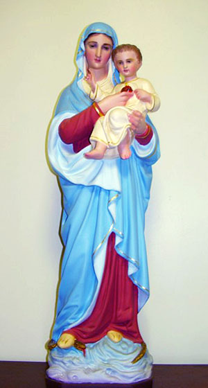 Our Lady of the Sacred Heart Statue